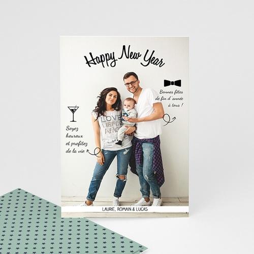 Carte de Voeux 2018 - Voeux de famille 44830 thumb