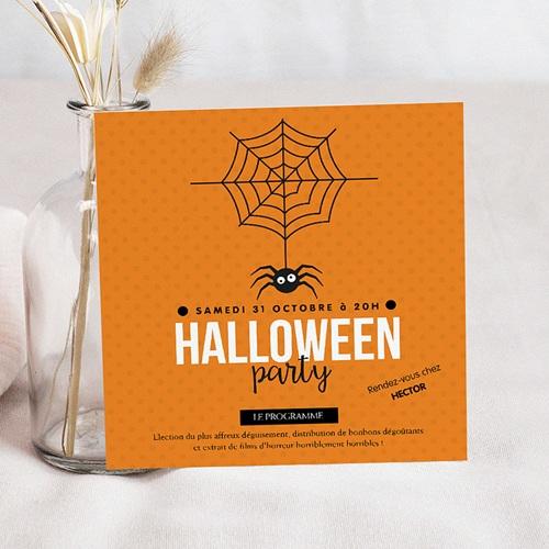 Invitations Anniversaire Garçon - Halloween 44902