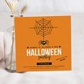 Carte invitation anniversaire garçon Halloween
