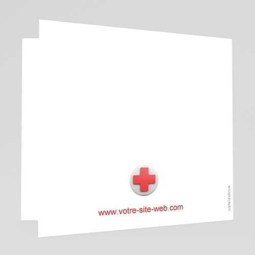 Cartes de Voeux Professionnels - Croix santé 44935 preview