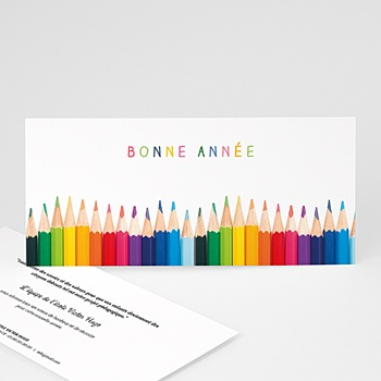 Créer soi même carte de voeux entreprise aux couleurs de la vie