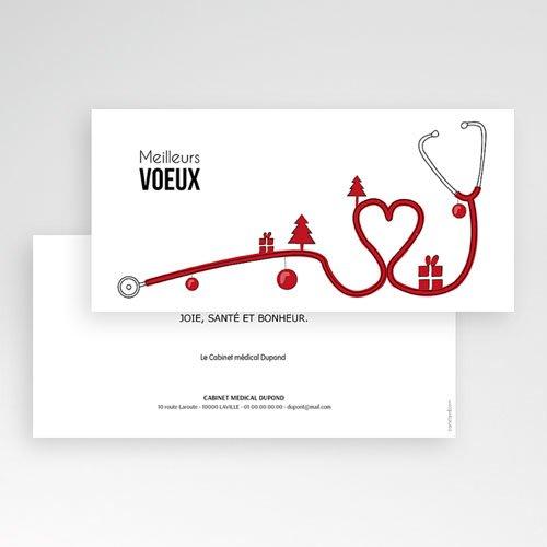 Cartes de Voeux Professionnels - Stéthoscope2 44963 preview
