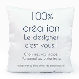 Coussin Ma propre création