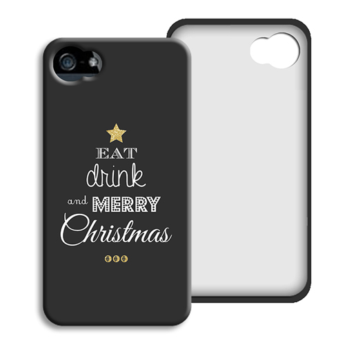 Coque iPhone 4/4S - Sapin en Mots 45058 thumb