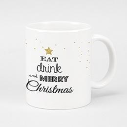 Mug Noël Sapin Texte