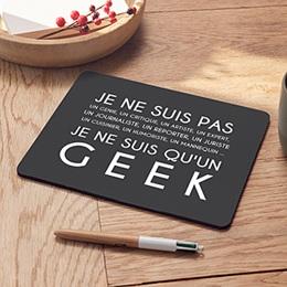 Tapis de souris personnalisé - Geek and Co - 0