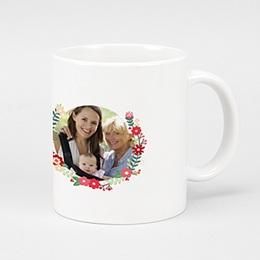Mug Noël Couronne de Fête
