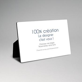 Cadre photo en bois - 100% Créatif - 0