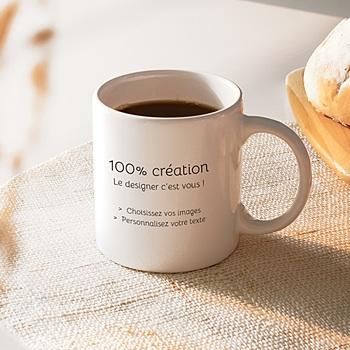 Mug 100% Créatif personnalisable