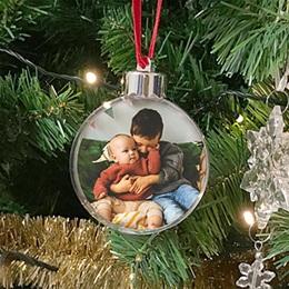 Boule de Sapin de Noel Noël Pour mamie et papy