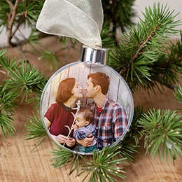 Boule de Sapin de Noel Noël Ma famille