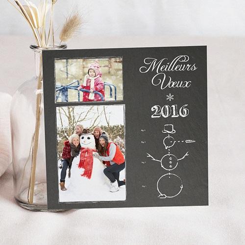 Carte de Voeux 2018 - Bonhomme de neige photo 45194