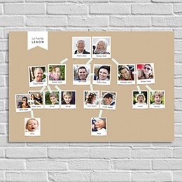 Poster Tirage Photo Racines familiales