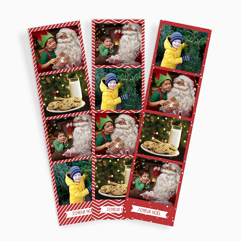 Magnet Photo Noel Joyeux,Lot de 3