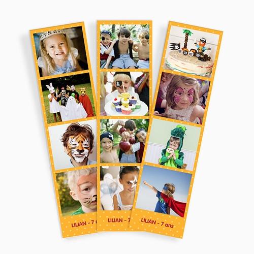 Magnet Photo Anniversaire enfant, Lot de 3