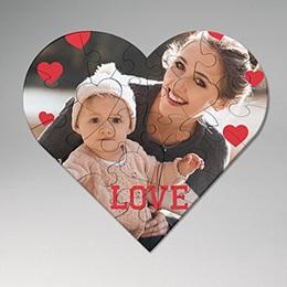 Puzzle Noël Morceaux d'amour