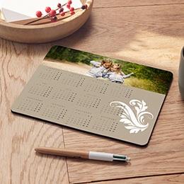 Tapis de souris personnalisé Style calendrier