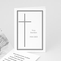 Remerciements Décès Chrétien En mémoire