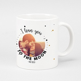 Mug Personnalisé - To the Moon - 0
