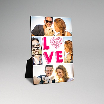 Cadre photo en bois - Big love - 0