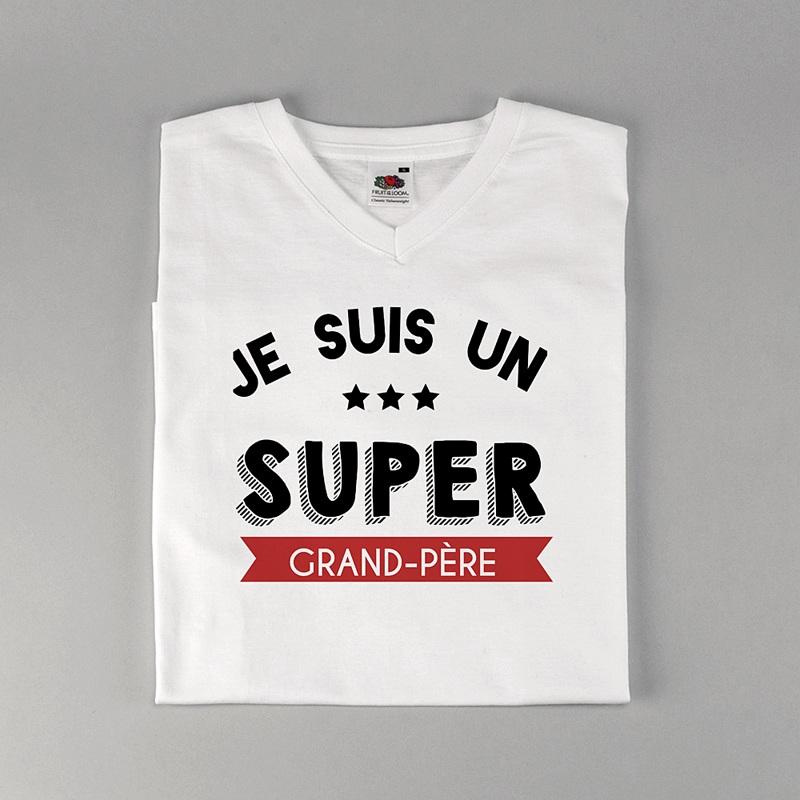 Tee-shirt homme Super grand-père