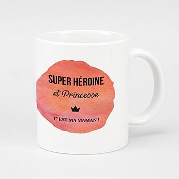 Mug A l'eau de rose à personnaliser