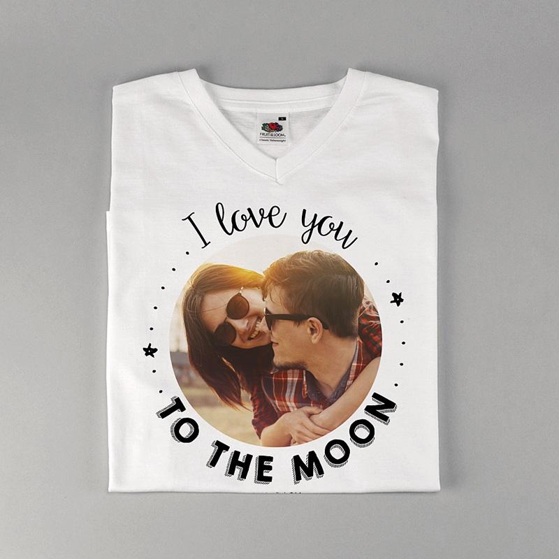 Tee-Shirt Personnalisé Photo T-love