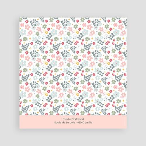 Faire-part Communion Fille - Floralies 45812 thumb