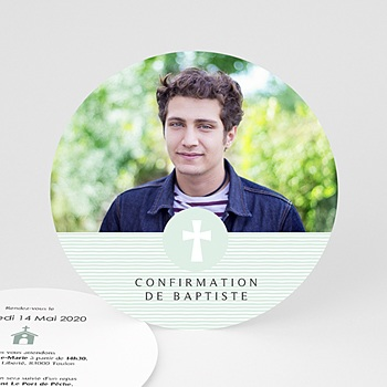 Carte invitation confirmation l'esprit saint