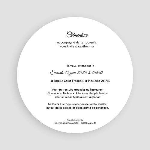 Invitation Confirmation  - Touches de noir 45872 thumb