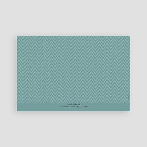 Carte Remerciement Communion Garçon Tout bleu pas cher