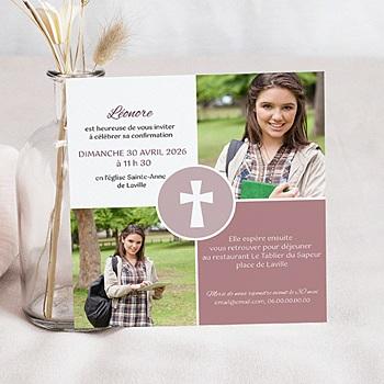 Achat carte invitation confirmation mon engagement