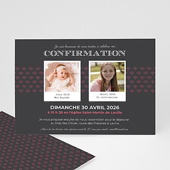Invitation Confirmation  - Confirmation du baptême - 0
