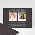 Carte Invitation Confirmation Confirmation du baptême