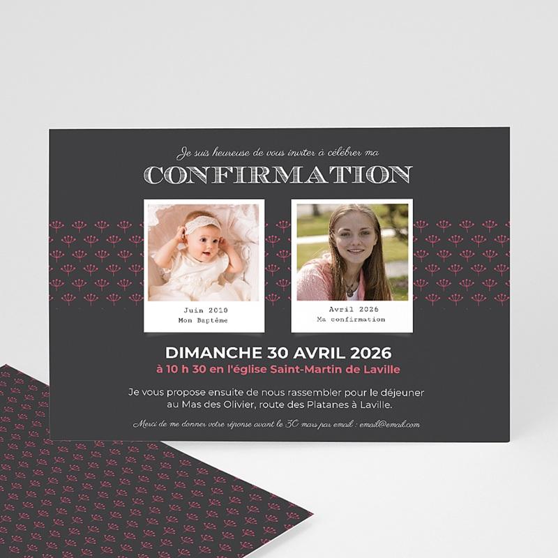 Invitation Confirmation  - Confirmation du baptême 45948 thumb