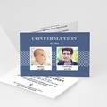 Carte Invitation Confirmation Saint Esprit