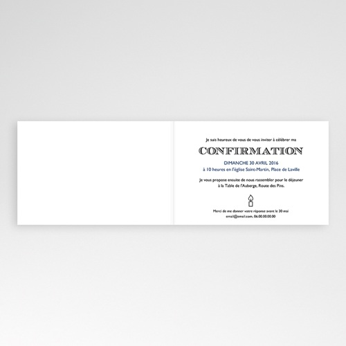 Invitation Confirmation  - Saint Esprit 45955 preview
