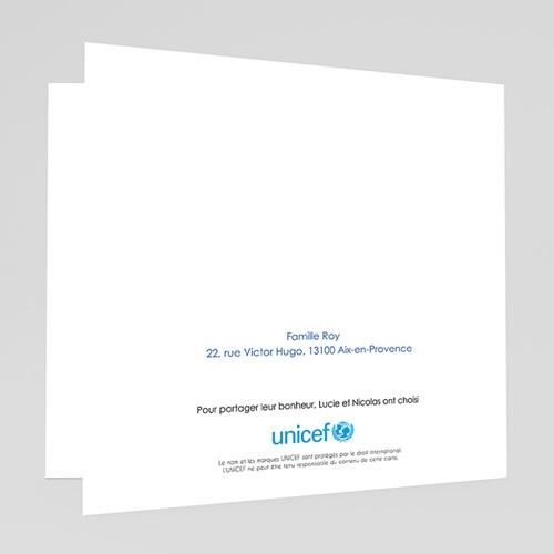 Faire-Part Naissance Fille UNICEF Dessin d'écolier gratuit