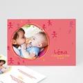 Faire-Part Naissance Fille UNICEF Bonhommies Roses
