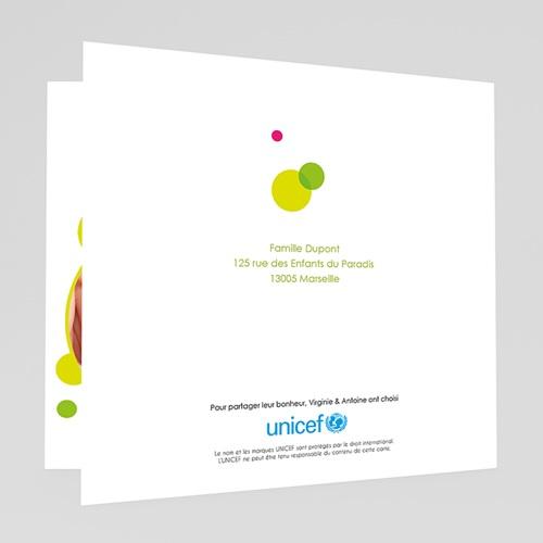 Faire-Part Naissance Fille UNICEF - Mains tendues 46048 preview