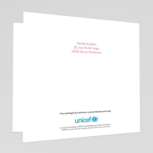 Faire-Part Naissance Garçon UNICEF Scotchés gratuit