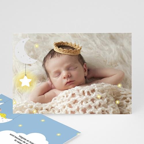 Faire-Part Naissance Garçon UNICEF - Clair de Lune 46094 thumb