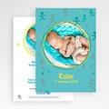 Faire-Part Naissance Garçon UNICEF - Bonhommes Bleus 46120 thumb