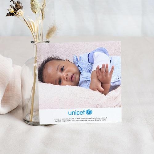 Remerciement Naissance UNICEF - Oiseau du Paradis 46146 preview