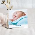 Carte Remerciement Naissance UNICEF Scotchés pas cher