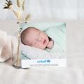 Remerciement Naissance UNICEF - Petites Fleurs Bleues 46196 thumb
