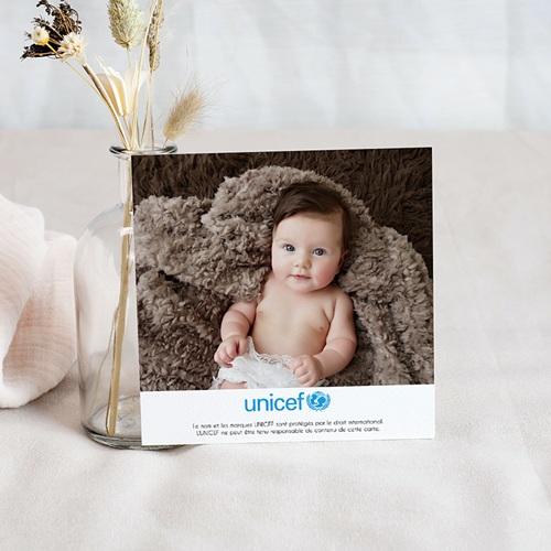 Remerciement Naissance UNICEF - Mots de Fille 46199 preview