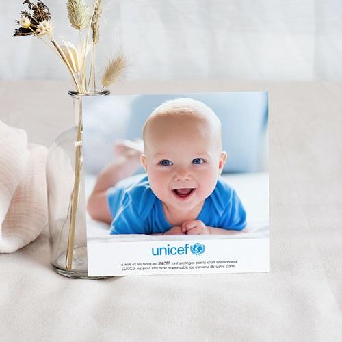 Remerciement Naissance UNICEF - Ronde du Monde 46211 preview