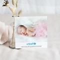 Remerciement Naissance UNICEF - Rose Etoilée 46241 thumb