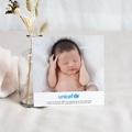 Carte Remerciement Naissance UNICEF Esprit naturel pas cher